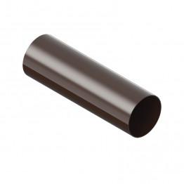 Водосточная труба INES 80 мм /3м/ Коричневый