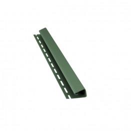 J-профиль (4м) Зеленый