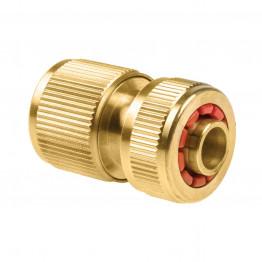 BRASS Коннектор - стоп 1/2'' /латунный/