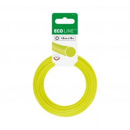 ECO Лески для триммеров - круглые 1,6 мм x 15 м