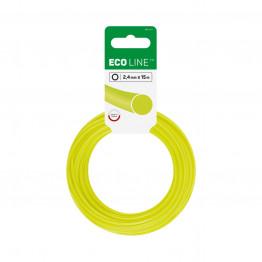 ECO Лески для триммеров - круглые 2,4 мм x 15 м