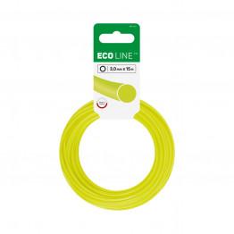 ECO Лески для триммеров - круглые 3,0 мм x 15 м