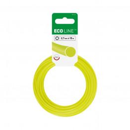 ECO Лески для триммеров - круглые 2,7 мм x 15 м
