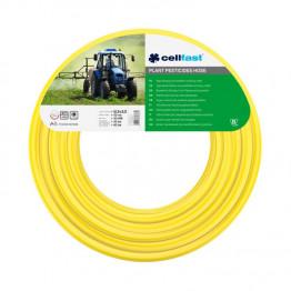 Армированный шланг для средств защиты растений (желтый) 12,5 x 3,0 мм  50  м